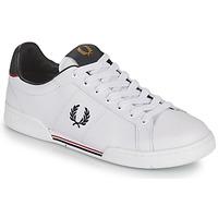 Skor Herr Sneakers Fred Perry B722 Vit
