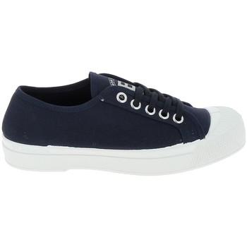 Skor Dam Sneakers Bensimon Toile Romy Marine Blå