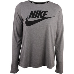 textil Dam Sweatjackets Nike Fall HBR Longsleeve Top Grå