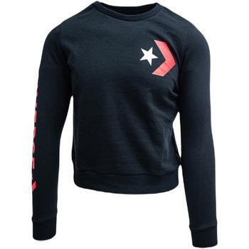 textil Dam Sweatjackets Converse cu imprimeu logo Svart