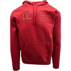 textil Herr Sweatshirts DC Shoes Density Zone Röd