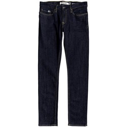textil Herr Stuprörsjeans DC Shoes Worker Indigo Rinse Slim Fit Jeans Blå