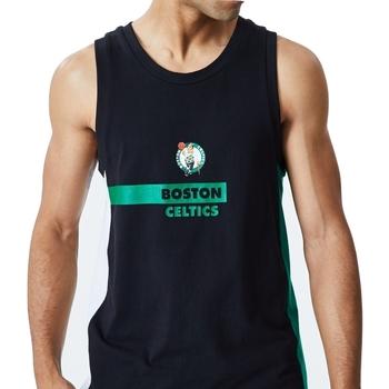 textil Herr Linnen / Ärmlösa T-shirts New-Era Nba Boston Svart