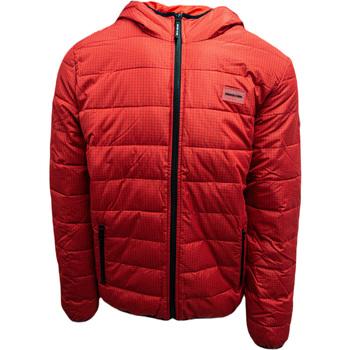 textil Herr Jackor DC Shoes Turner Puffer Hooded Röd