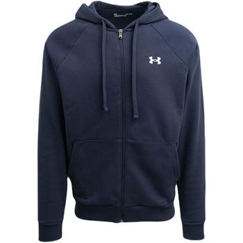 textil Herr Sweatshirts Under Armour UA Rival FZ Hoodie Blå