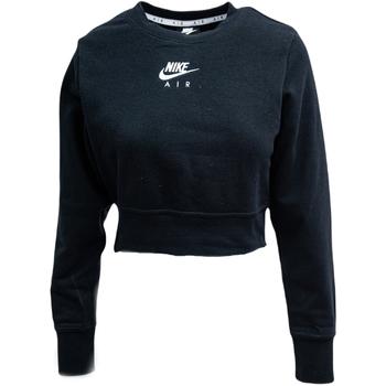 textil Dam Sweatjackets Nike Air-Crew Svart