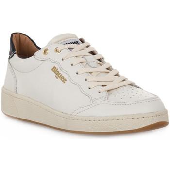 Skor Dam Sneakers Blauer WHI OLYMPIA Bianco