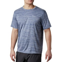 textil Herr T-shirts Columbia Zero Rules Short Sleeve Shirt Bleu