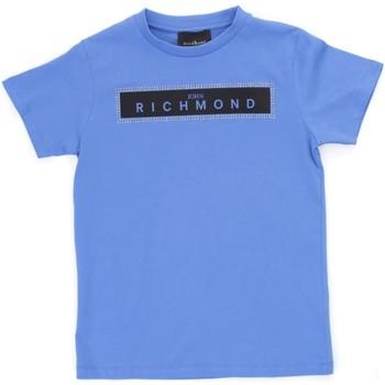 textil Pojkar T-shirts Richmond Kids RBP21030TS Light blue