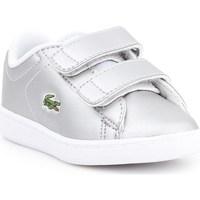 Skor Barn Sneakers Lacoste Carnaby Evo Silver