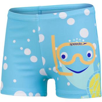 textil Pojkar Badbyxor och badkläder Speedo  Blå/gul