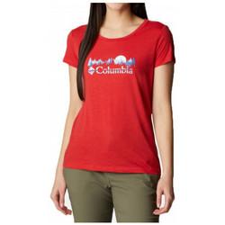 textil Dam T-shirts Columbia  Flerfärgad