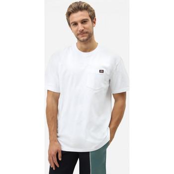 textil Herr T-shirts Dickies Porterdale tshirt mens Vit