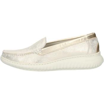 Skor Dam Loafers Notton 3117 Platinum