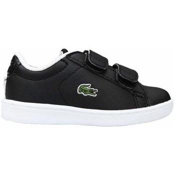 Skor Barn Sneakers Lacoste Carnaby Evo Strap Svarta