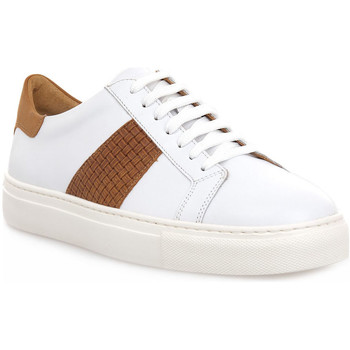 Skor Herr Sneakers Soldini COLORADO BIANCO CUOIO Bianco
