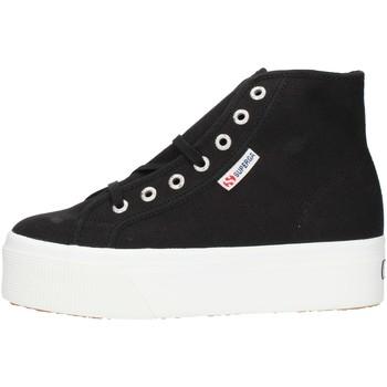 Skor Dam Höga sneakers Superga 2705HITTOP Black