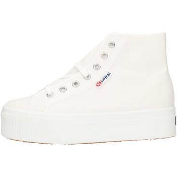 Skor Dam Höga sneakers Superga 2705HITTOP White