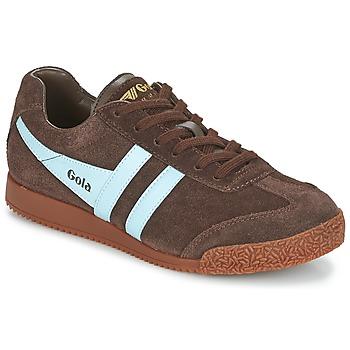 Skor Sneakers Gola HARRIER Brun / Blå