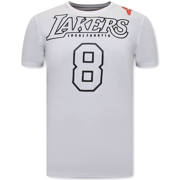 textil Herr T-shirts Local Fanatic Lakers Vit