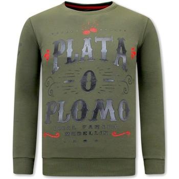 textil Herr Sweatshirts Local Fanatic PLATA O PLOMO Grön