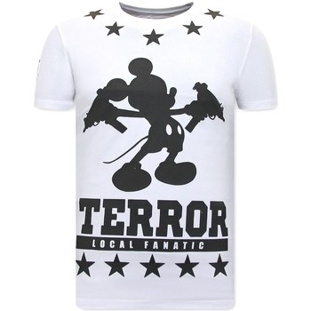textil Herr T-shirts Local Fanatic Terror Mouse Vit