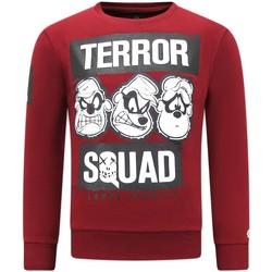 textil Herr Sweatshirts Local Fanatic Terror Beagle Boys Bordeaux