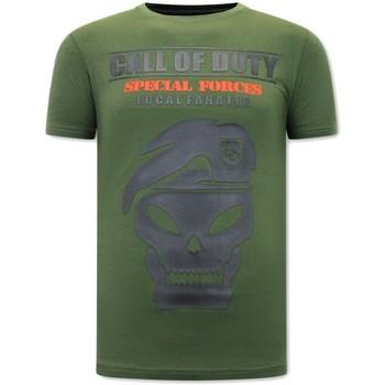 textil Herr T-shirts Local Fanatic Tryck Call Of Duty Grön