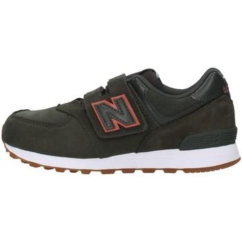 Skor Pojkar Sneakers New Balance YV574PGO GREEN