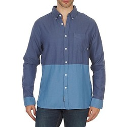 textil Herr Långärmade skjortor Element BRENTWOOD Blå