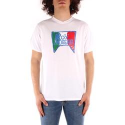 textil Herr T-shirts Roy Rogers P21RRU513C7480013 WHITE