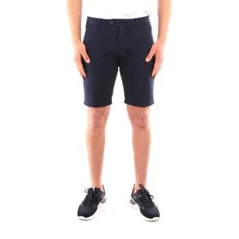 textil Herr Shorts / Bermudas Roy Rogers P21RRU087C9250112 NAVY BLUE