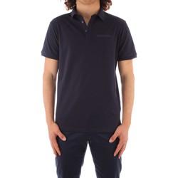 textil Herr Kortärmade pikétröjor Trussardi 52T00488 1T003603 NAVY BLUE