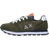 Skor Pojkar Sneakers Sun68 Z31301 GREEN