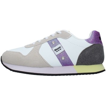 Skor Flickor Sneakers Blauer S1LILLI02/LES WHITE