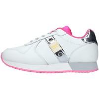 Skor Flickor Sneakers Blauer S1LILLI02/LEA WHITE