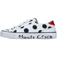 Skor Dam Sneakers Manila Grace S631CP WHITE