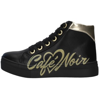 Skor Flickor Höga sneakers Café Noir C-841 BLACK
