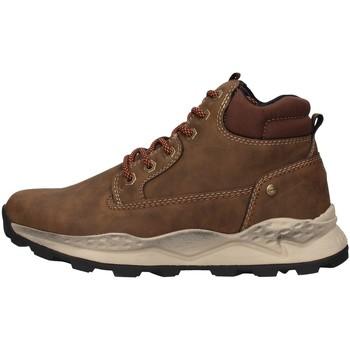 Skor Herr Höga sneakers Wrangler WM02153A BROWN