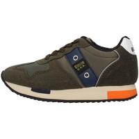 Skor Pojkar Sneakers Blauer F0DASH02/NYL GREEN
