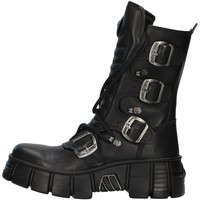 Skor Sneakers New Rock WALL028N BLACK