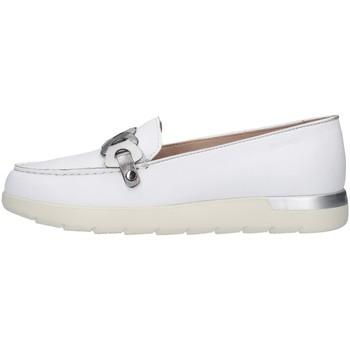 Skor Dam Loafers Stonefly 213786 WHITE