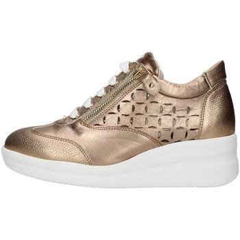 Skor Dam Sneakers Melluso R20228 GOLD