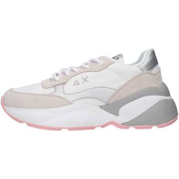 Skor Dam Sneakers Sun68 Z30220 WHITE