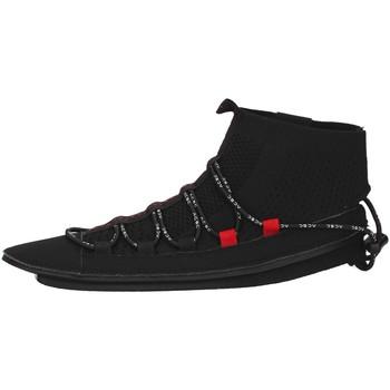 Skor Dam Höga sneakers Acbc SKLA107 BLACK