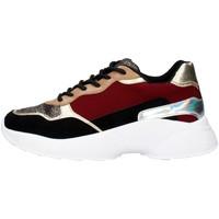 Skor Dam Sneakers Gold&gold GA136 BORDEAUX