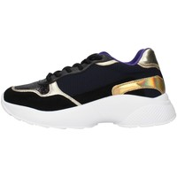 Skor Dam Sneakers Gold&gold GA136 BLACK