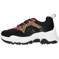 Skor Dam Sneakers Gold&gold GS35 BLACK
