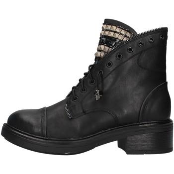 Skor Dam Boots Gold&gold GA75 BLACK