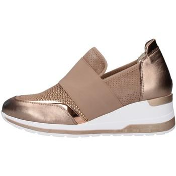 Skor Dam Sneakers Melluso R20413 BEIGE